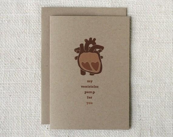 Valentine Card - Ventricles