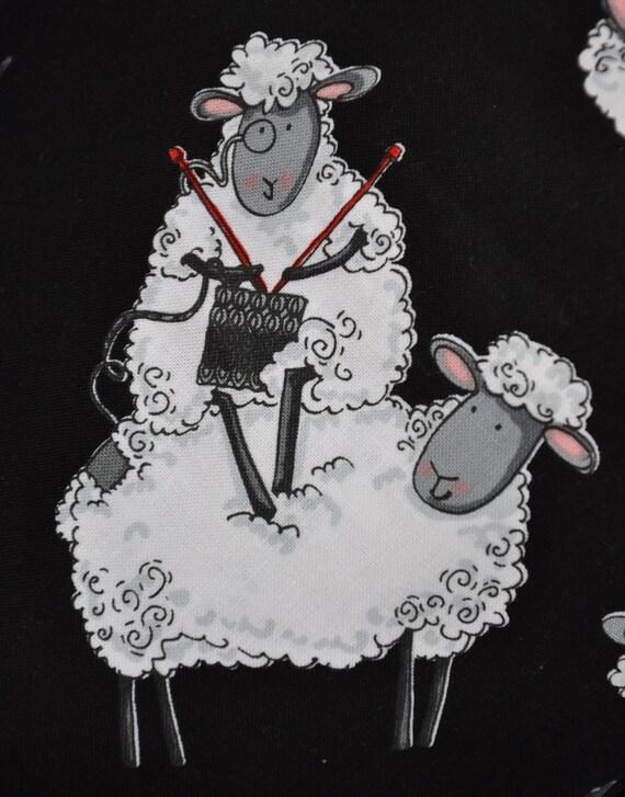 Project Bag  Knitting Sheep
