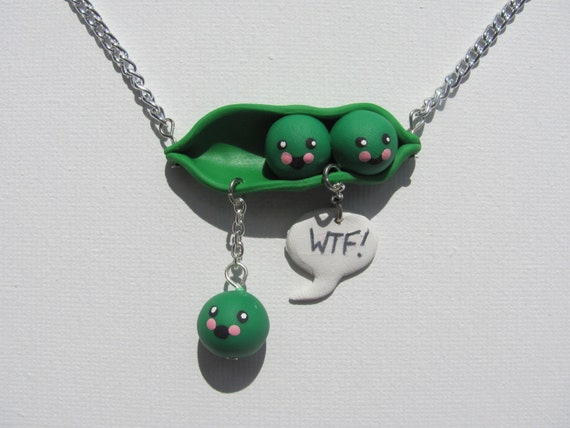 WTF, pea pod fail necklace