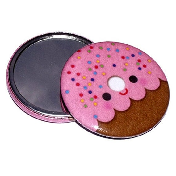 Pocket Mirror - Yummy Donut