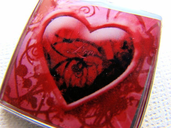 Resin Pendant, Heart