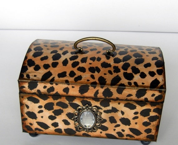 Брелок Box Fabulous Leopard