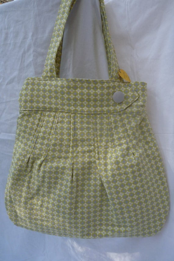 Citrone and Gray Kiwi Bag