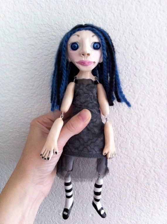 "OOAK Art Doll - ""Lacey"""