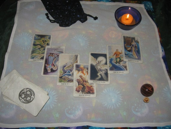Spiritual Guidance - Seven/Eight Card Intuitive Tarot Reading