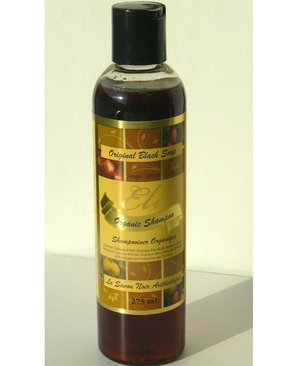 Black Soap Shampoo 275ml
