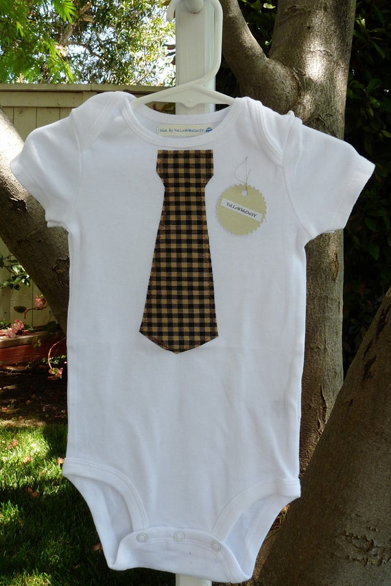 Neck Tie Onesie