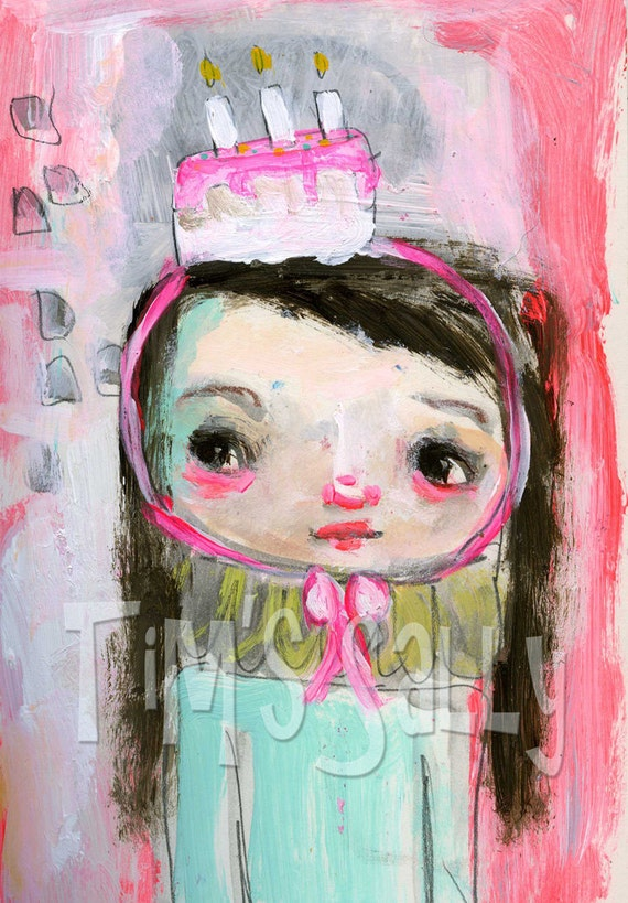 Birthday Girl.........5x7 print