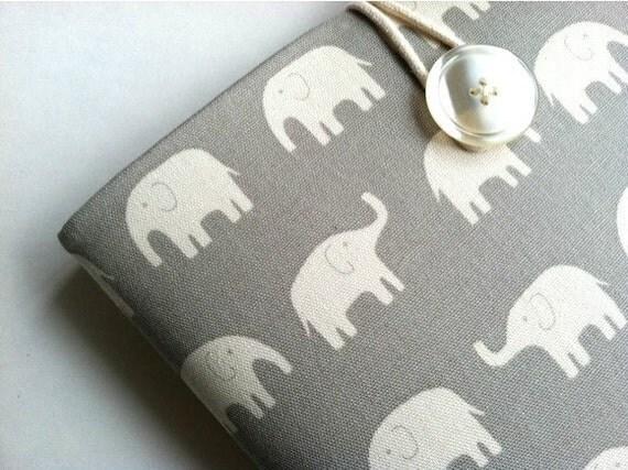Cute iPad Sleeve iPad Case Padded Cover - Elephants