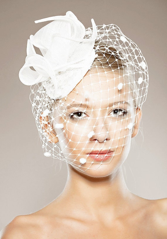 Wedding Veils a Birdcage Veil