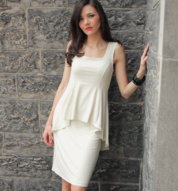 Chic Layered Dress- Audrey Hepburn style