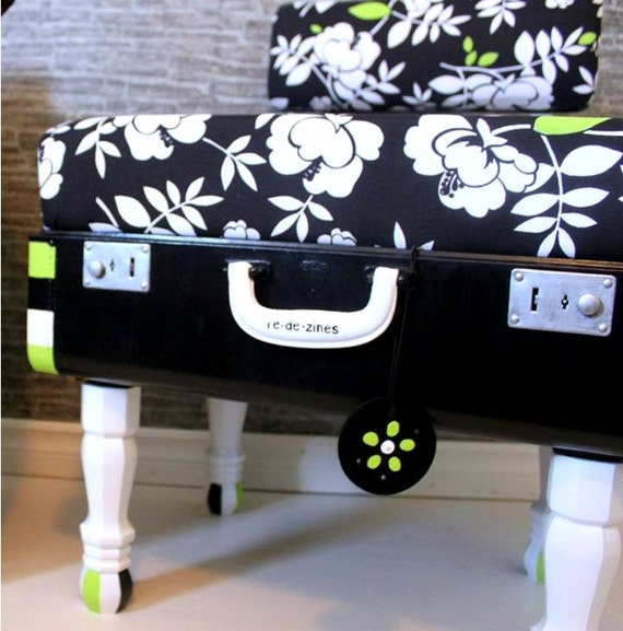Repurposed Vintage Suitcase Chair