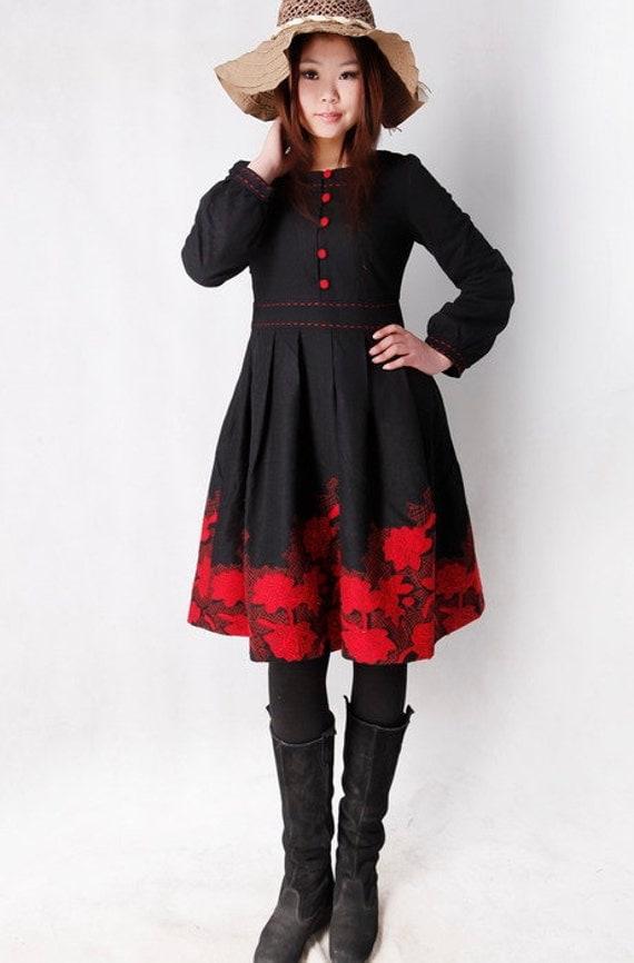 Ma Bicyclette: Buy Handmade   Dresses - Xiaolizi handmade dress