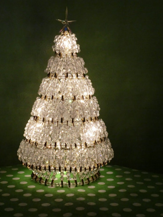 Illuminated Vintage Christmas Tree