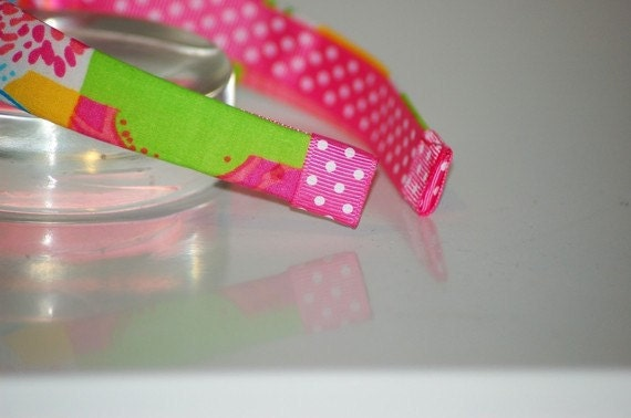 Lilly Pulitzer: FIVE Fabric Headbands Grab Bag- Lilly Pulitzer Preppy  Lilly Pulitzer Prints