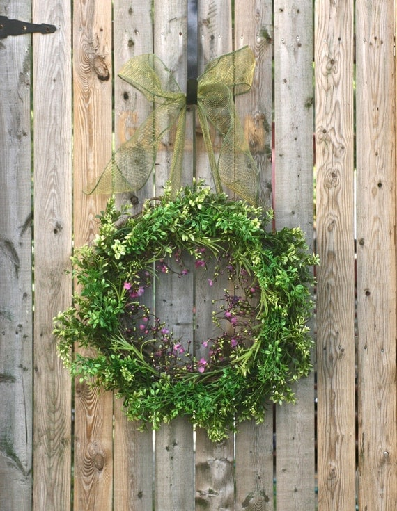 All Season Boxwood Wreath
