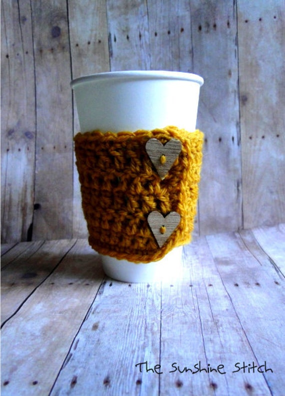 "Coffee Cozy ""Cuppa Love Cozy"""