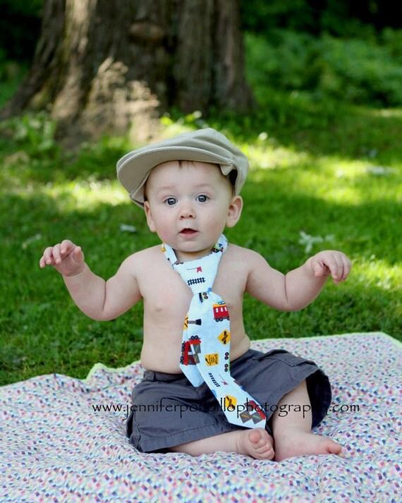 Little Man's Tie Sewing Pattern PDF Ebook