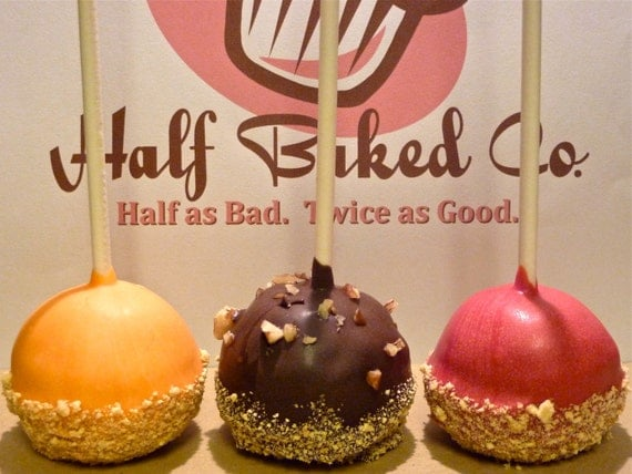 Dozen Holiday Pie Cake Pops for Your Fall Wedding (pumpkin, pecan, apple)