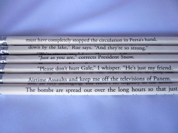 Hunger Games Trilogy Pencil Set