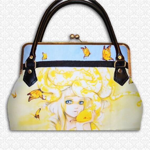 Custom purse Yuuta Camilla d'Errico artwork