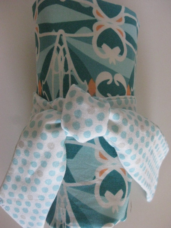 Diaper Bag Roll - Modern Baby Blue