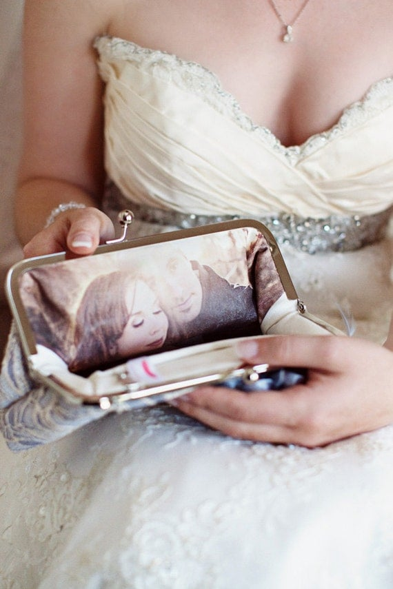 photo bridal clutch