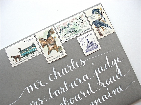 Stamps For Wedding Invitations: Stationery And Invitations: Where To
