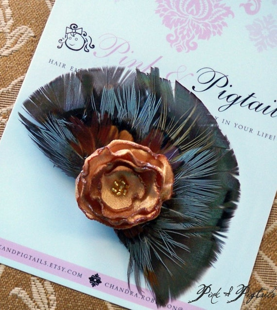 Introducing Dawn - Feather Hair Clip From Pink and Pigtails (98-10)