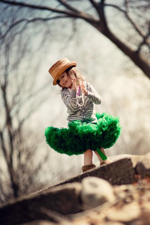 Pettiskirt یار - سبز - حجم Petti دامن شما انتخاب کنید