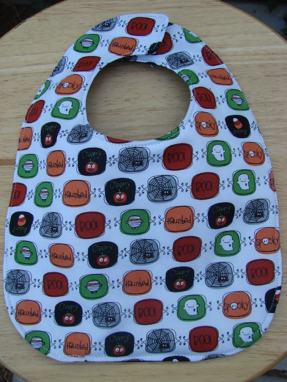 Baby Bib Reversible Halloween