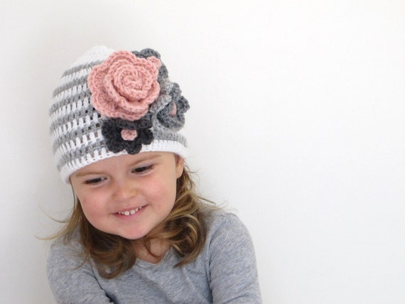 Lisa - Baby/Toddler Girl Hat sizes 0-3, 3-6, 6-12, 12-24, 2T-4T