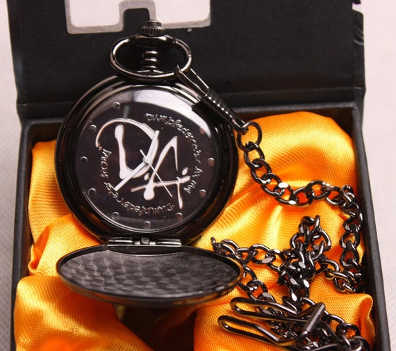 Harry potter classic pocket watch-the hogwarts college DA mark--harry potter  7
