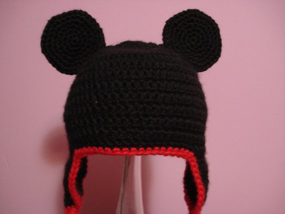 Baby Mickey Mouse hat