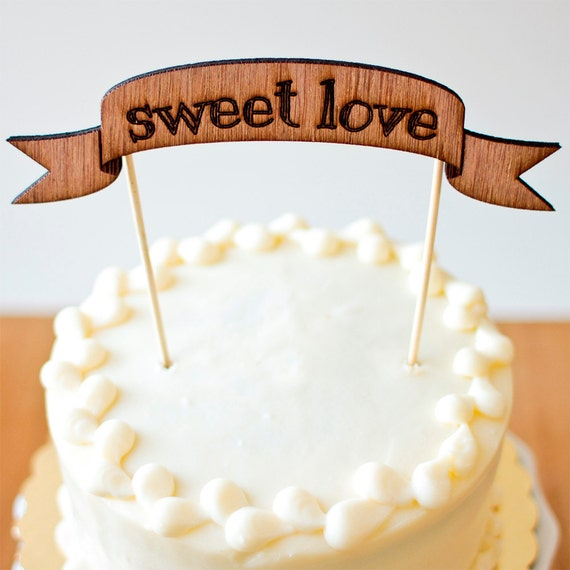 "The Shabby Chic ""Sweet Love"" Banner - Ready to ship"