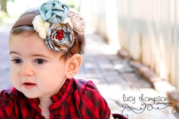 Autumn Is Here - New Headband From Pink and Pigtails (Item 87-11)