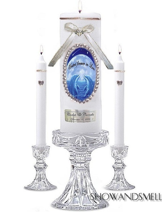 DOLPHIN nautical favors UNITY beach Wedding CANDLE set From candlegal