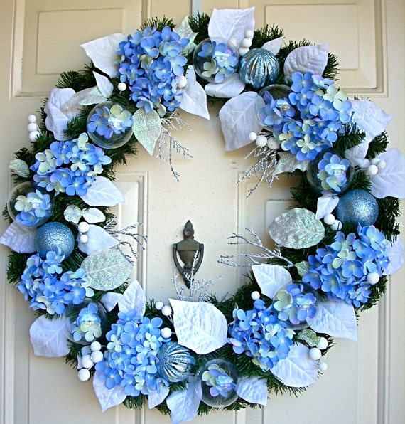 Light Blue Wreath - Azul Claro Wreath