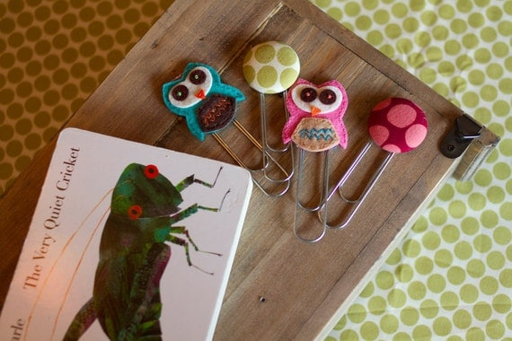 rabbit adult review. Felt WOOT-WOOT Owl Book Marks or Amy Butler Button Book ...
