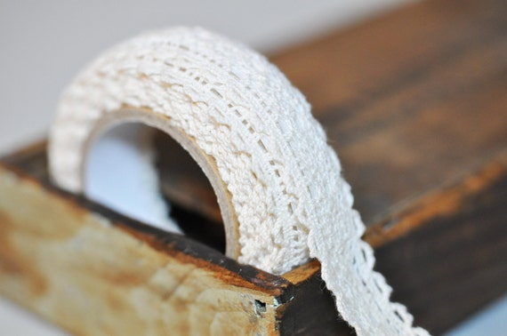 Self Adhesive Cream Lace tape