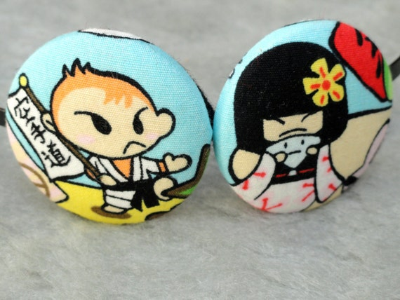 Fun Boy & Girl - Kawaii Japanese cartoon Headband / Hairband / Fascinator