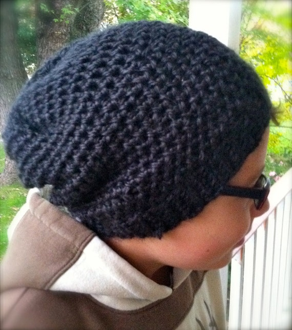 Free Crochet Pattern For Mens Slouchy Beanie : CROCHET MENS BEANIE How To Crochet