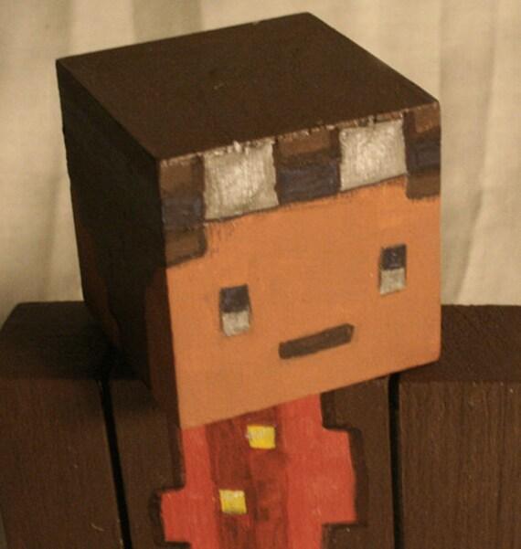 customizable minecraft toys - fan art