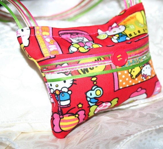 Hello Kitty Tooth Fairy Pillow - Jenny Looms