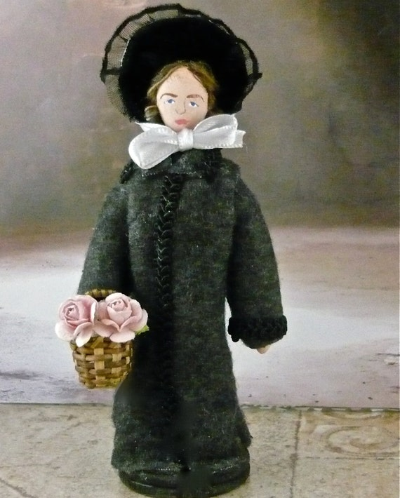 Les Miserables Doll Cosette Miniature French Literary Character