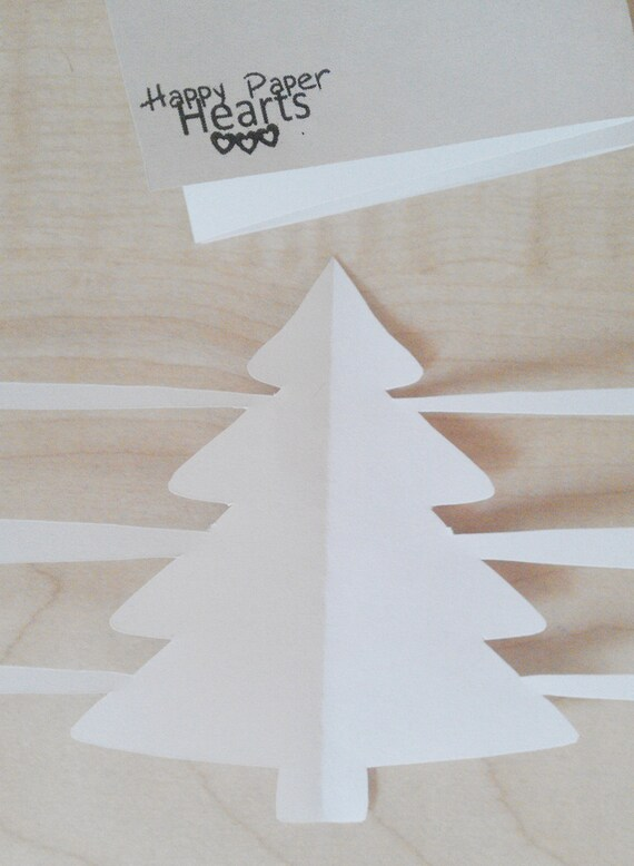 Christmas Trees Paper Garland PDF - DIY Printable Party Decorations & Fun Christmas Craft