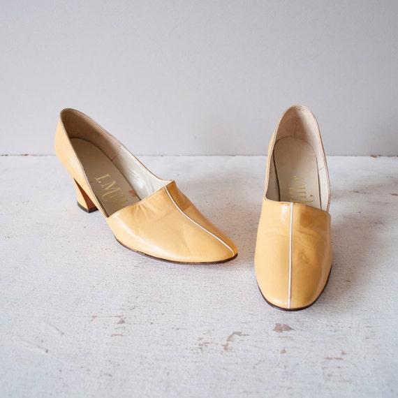 Vintage 60s I Miller Pixie Heels / Butter by GingerRootVintage from etsy.com