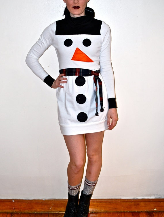 Frosty the snowman Holiday Dress