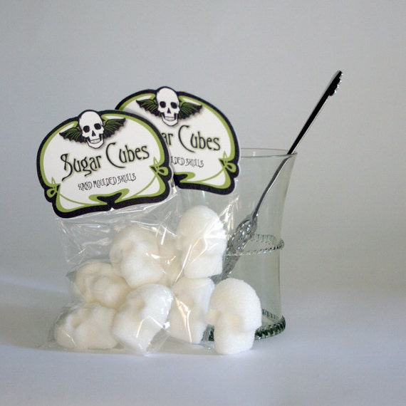 Absinthe Sugar Cubes - 6 Bags of Four Skulls