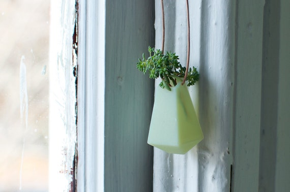 A Wearable Planter, No. 3, in Mint